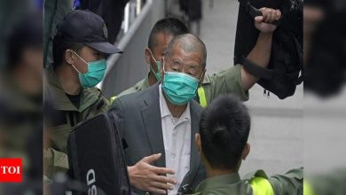 Jimmy Lai: Hong Kong media tycoon Jimmy Lai arrested over speedboat fugitives; Reports | World News - Times of India