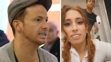 Joe Swash rants he'll have hump with Stacey if she's unveiled as Masked Singer's Sausage