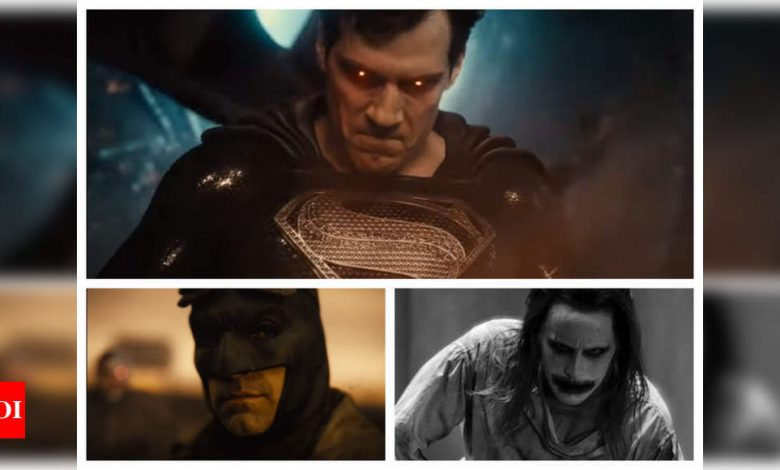 Justice League trailer: Zack Snyder signals a new age of heroes; teases Batman vs Joker showdown - Times of India