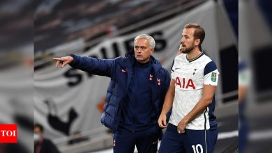 Kane 'optimistic' of quick return from injury, says Mourinho | Football News - Times of India