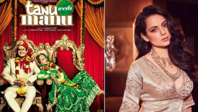 Kangana Ranaut says Tanu Weds Manu changed her career: I became the only actress after Sridevi to do comedy