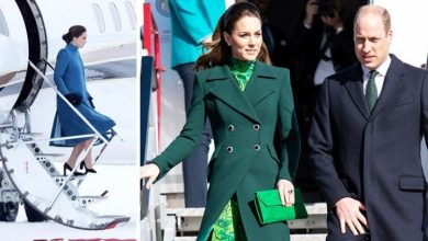 Kate Middleton has to follow plane etiquette rule when travelling - but not Prince William