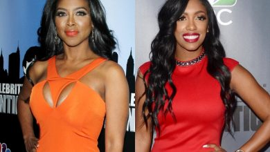 "Kenya Moore Defends Herself Against ""Snitching"" Claims As She Blasts Porsha Williams And RHOA Co-Stars On Twitter, Says Don"