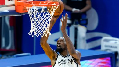 Kevin Durant leads Nets past Warriors in his Golden State return