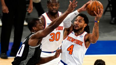 Knicks' Derrick Rose thrives in place of ailing Elfrid Payton