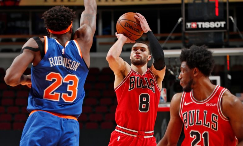 Knicks' Tom Thibodeau could be eyeing reunion with Zach LaVine