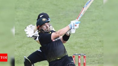 Knives out for Australia captain Aaron Finch after New Zealand loss | Cricket News - Times of India
