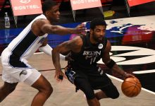 Kyrie Irving propels surging Nets to blowout win over Magic