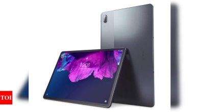 Lenovo launches its 'most-powerful' Android tablet in India at Rs 44,999 - Times of India