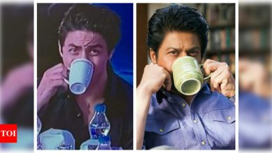Like father, like son: Aryan Khan sips on coffee; Twitterati go wild comparing him to dad Shah Rukh Khan - Times of India