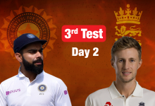 Live Cricket Score, India vs England, 3rd Test Day 2: India lose four quick wickets - The Times of India