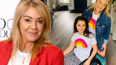 Lucy Alexander says daughter is suffering 'a few achy side effects' from Covid vaccine