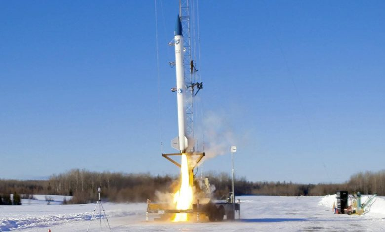 Maine-based bluShift aerospace successfully launches prototype rocket in test flight