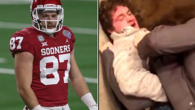 Man who pummeled Oklahoma football player Spencer Jones in crazy bar fight speaks out