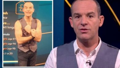 Martin Lewis brands co-host 'a cruel women' as she sparks frenzy with shirtless pic of him