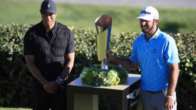 Max Homa overcomes near-debacle — and fear of Tiger Woods