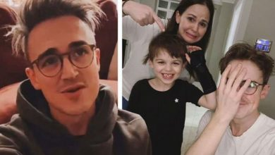 McFly's Tom Fletcher praises NHS as son Buzz, 6, is rushed to hospital following accident