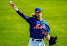 Mets' Noah Syndergaard takes significant step in rehab