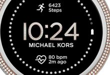 Michael Kors:  Michael Kors launches Gen 5E smartwatch, priced at Rs 25,995 - Times of India