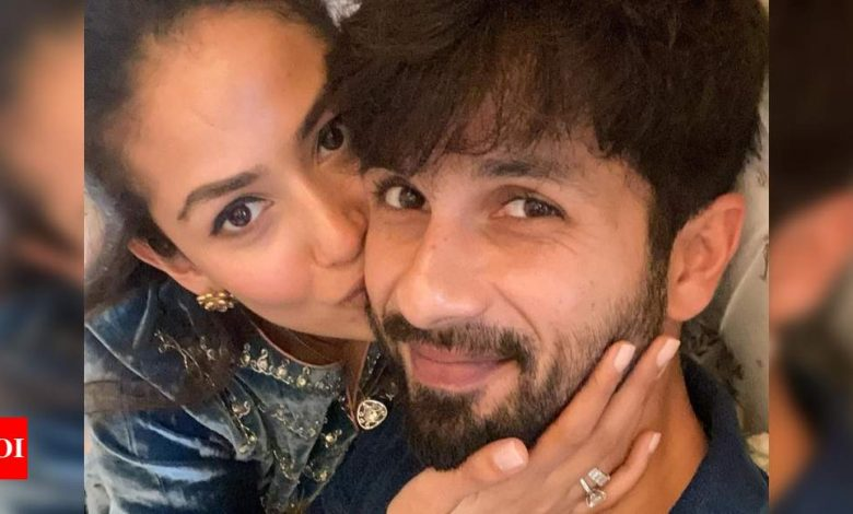 Mira Rajput shares a mushy photo with the 'love of her life' Shahid Kapoor on his 40th birthday - Times of India