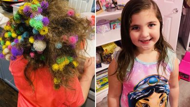 Mom spent 20 hours detangling daughter's hair after freak toy incident