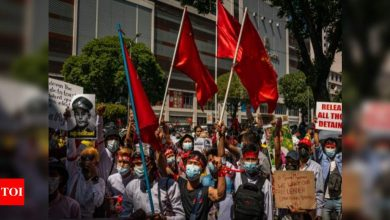 Myanmar coup opponents face possible charges for social media comments - Times of India