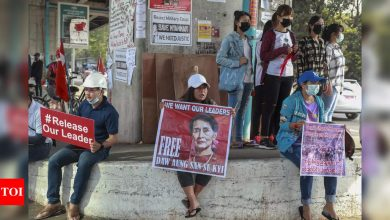 Myanmar generals under renewed pressure after sanctions, mass protest - Times of India