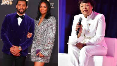 New Orleans Mayor LaToya Cantrell makes Saints pitch to Russell Wilson, Ciara