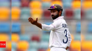 Not thinking about World Test Championship final, focusing on Test series against England: Ajinkya Rahane | Cricket News - Times of India