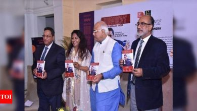 Noted educationist Dr Darlie Koshy's new book unveiled at the India Craft Week - Times of India