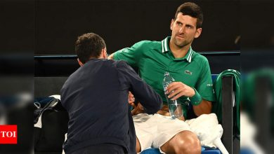 Novak Djokovic unsure whether he will continue at Australian Open | Tennis News - Times of India