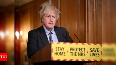'One-way road to freedom': Johnson sets out cautious lockdown exit plan - Times of India