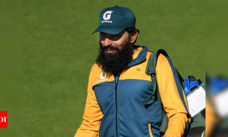 Our batsmen need to play spin better if they are to do well in T20 World Cup in India: Misbah-ul-Haq   Cricket News - Times of India