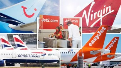 Package holidays: easyJet, TUI, BA, Jet2 & Virgin Holidays latest updates as rules to ease