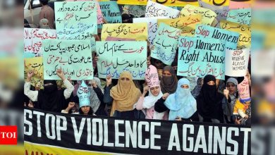 Pakistan reported highest incidence of violence against women during peak of pandemic in 2020: Report - Times of India