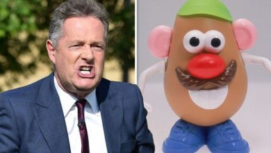 Piers Morgan unleashes furious rant about gender neutral Mr Potato Head announcement
