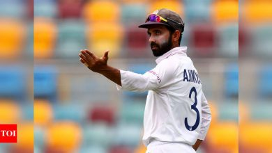 Pitch looks completely different and I am sure it will turn from Day 1: Ajinkya Rahane | Cricket News - Times of India