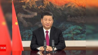 President Xi claims complete victory in eradicating absolute poverty in China - Times of India