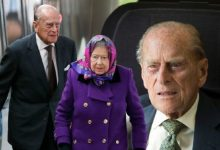 Prince Philip left