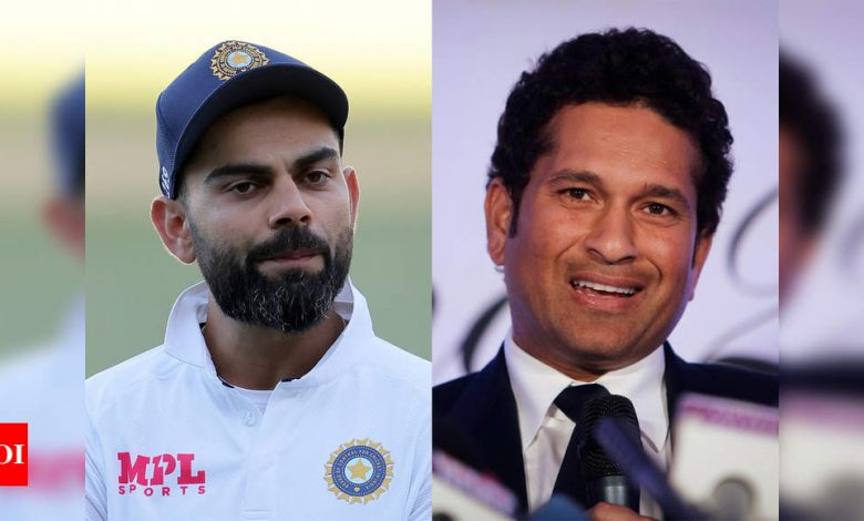 'Proud' Sachin Tendulkar lauds Virat Kohli for opening up on battle against depression | Cricket News - Times of India