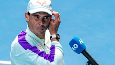 Rafael Nadal didn't know what to do after accidentally revealing Australian Open secret