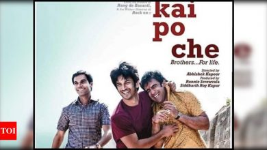 Rajkummar Rao takes a walk down the memory lane as 'Kai Po Che!' completes 8 years; says 'You are being missed my dearest Sushant Singh Rajput' - Times of India