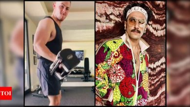 Ranveer Singh goes, 'Oho jiju! dolle-sholle' on Nick Jonas' new workout video - Times of India