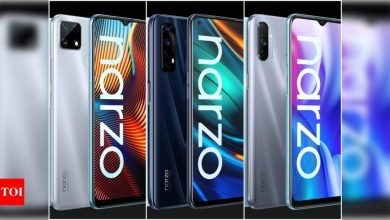 Realme Narzo 30 Pro 5G, Realme Narzo 30A specifications reveal ahead of launch - Times of India