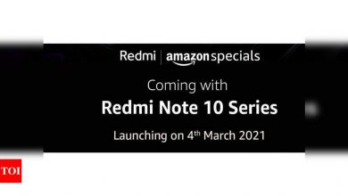 Redmi Note 10:  Xiaomi teases to bring the smallest notch ever on a Redmi with Redmi Note 10 - Times of India