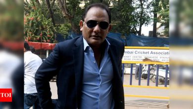 Right shoes can work wonders when batting on dry tracks, says Azharuddin | Cricket News - Times of India