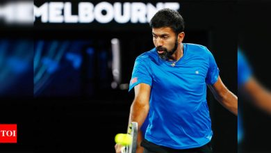 Rohan Bopanna bows out of mixed doubles, India's campaign ends in Australian Open | Tennis News - Times of India