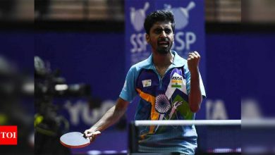 Sathiyan goes high-tech in search of perfection | More sports News - Times of India