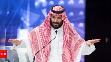 Saudi crown prince has surgery for appendicitis - Times of India