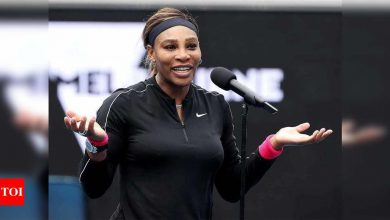 Serena Williams calls Australian Open delay a 'blessing' for injury recovery   Tennis News - Times of India